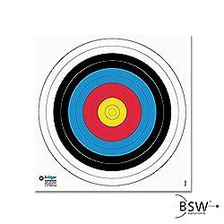 Halona 10x FITA Scheibenauflage 40cm Zielscheibe Bogenschie/ßen Sportbogen Auflage Training
