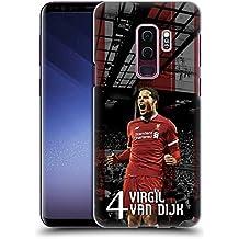Head Case Designs Ufficiale Liverpool Football Club Virgil Van Dijk 2017/18 Prima Squadra Gruppo 1 Cover Retro Rigida per Samsung Galaxy S9+/S9 Plus