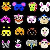 Mascarilla De Niño De Halloween Máscara De Animal De Dibujos Animados Máscaras De Espuma Animal Fiesta Disfraces,G