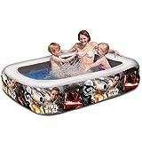 Unbekannt Star Wars aufblasbares Planschbecken Pool 200 x 150 cm mit Motiven • Schwimmbad Wasser...