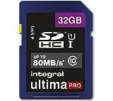 Integral 32 GB Class 10 UltimaPro SDXC Memory Card
