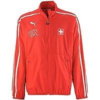 Puma Camiseta Chaqueta Suisse Rojo- - White Talla:Large