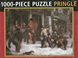 Pringle 1000 Piece Jigsaw Puzzle - Snowball Fight by William J Pringle by Anness Publishing