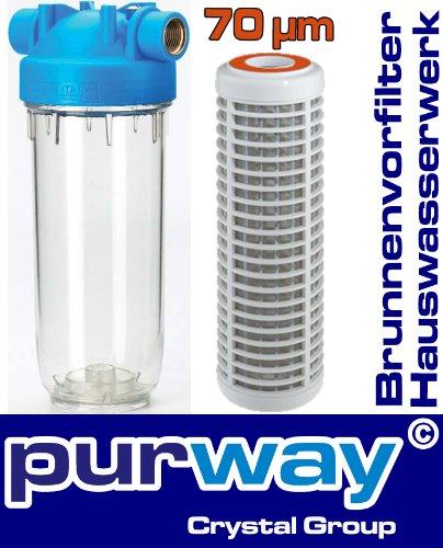 DP1 PBL 70mcr 3/4 Hauswasserwerk Filter Sandfilter Pumpen Vorfilter Brunnenfilter