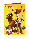 Disney Toy Story Bullseye Woody Best in the West Carte d'anniversaire Inscription Happy Birthday