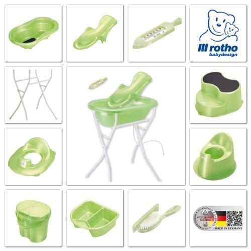 Rotho Babydesign 20002 0139 – Top Windeleimer, lindgrün perl - 2
