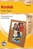 Kodak Inkjet Fotopapier (100 Blatt, A6, (10 x 15 cm), 180g)