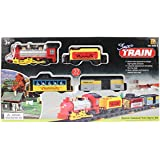 Planet of Toys Electric Classical Train Track Game Play Set with Lights and Music - 33 Pieces Pack for Kids/Children