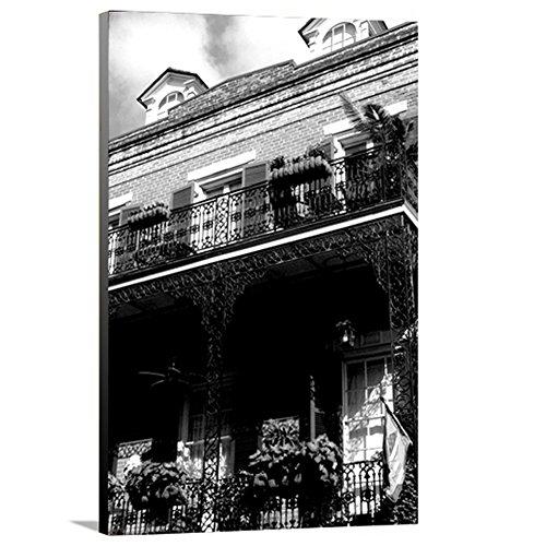 artzee Designs Home Décor fertig zum Aufhängen Geschenkidee Travel Lousiana New Orleans Plantation House Leinwand Fotografie Wand Kunst 61x 76,2cm Multicolor, 61x 76,2cm