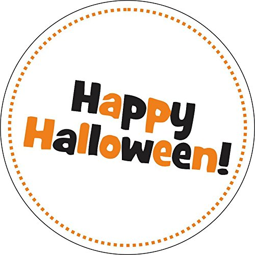 Selbstklebend Wandtattoo Fete Deco Halloween MacBook Happy Halloween Frohe rund