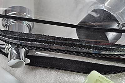 3pcs Clear PVC Cosmetic Bags for Toiletries Makeup Wash Bag Travel Set