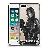 Offizielle AMC The Walking Dead Doppelbelichtung - Daryl Verschiedene Designs Skinny Fit Hybride Durchsichtig Hülle für iPhone 7 Plus/iPhone 8 Plus