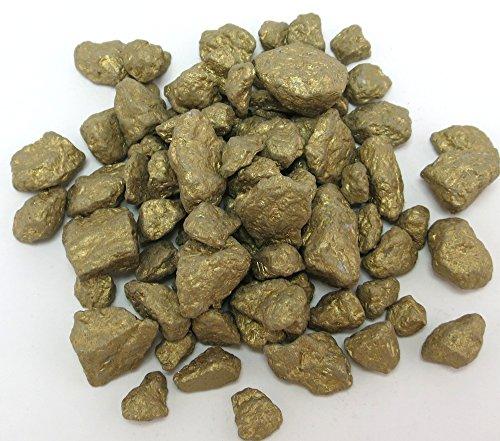 Dekosteine - Granulat (gold, 500g grob - ca. 10mm)