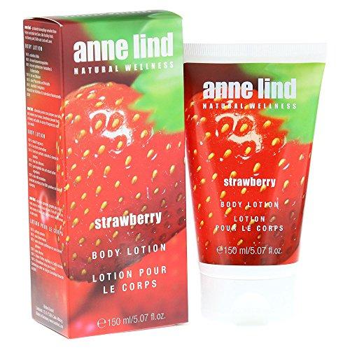 Annemarie Börlind Anne Lind Women, Strawberry Body Lotion, 1er Pack (1 x 150 ml)
