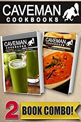 Paleo Green Smoothie Recipes and Paleo Indian Recipes: 2 Book Combo (Caveman Cookbooks) by Angela Anottacelli (2014-09-19)