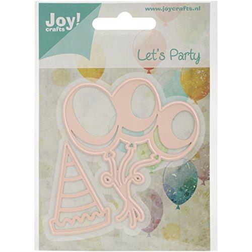 Ecstasy Crafts-Joy Crafts-fustelle per lavorazione a sbalzo e fustellatura, palloncini e cappellino