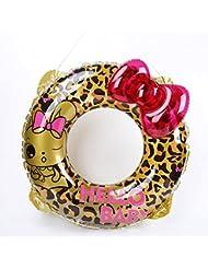 Círculo de la vida más grueso adulto bebé círculo círculo círculo de la madre nadar anillo contiene inflador , leopard 90 weight 400 grams