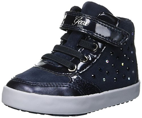 Geox Baby Mädchen B Kilwi Girl B Sneaker, Blau (Navy C4002), 24 EU