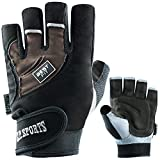 Best-Fitness-Handschuh F12 Gr.L - Bodybuilding, Kraftsport + Trainings-Handschuh, C.P.Sports