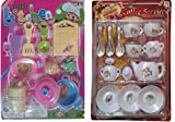 S S TRADERS - 22 Peices Kids Kitchen set for Girls with Cup Sets - Good Gift for Kids