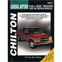 Chevrolet Pick-Ups, 1988-98 (Chilton's Total Car Care Repair Manuals)