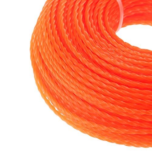 color aleatorio Manyo 100 m cortac/ésped herramienta de jard/ín accesorios de agricultura Hilo de corte hilo para desbrozadora de gasolina cabeza cortabordes de nailon