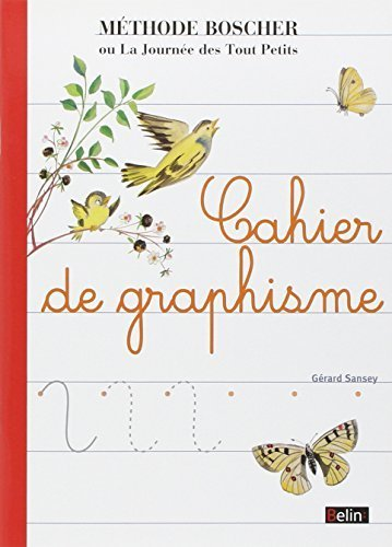Cahier de Graphisme - Boscher (French Edition) by Paul Boscher (2008-08-08)