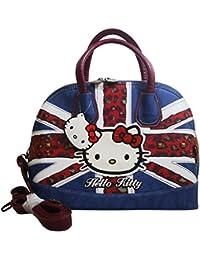Hello Kitty England Flag Sac porté main pour Femme Bandoulière Sac à l'épaule Bugatti