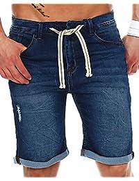 Sublevel Herren Shorts Jogg Jeans