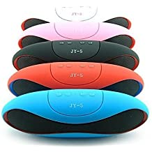 Altavoz Bluetooth Portátil y con Micrófono - Potente Altavoz Inalámbrico Equipado con Manos Libres para Teléfonos Móviles - Compatible con iPhone, Samsung Galaxy, Nokia, HTC, Blackberry, Google, LG, Nexus, iPad, Tabletas, Ordenadores etc. [Color NEGRO]
