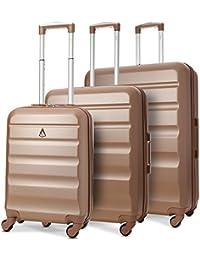 Aerolite ABS Valises Rigides Légères 4 Roulettes Sets de Bagages