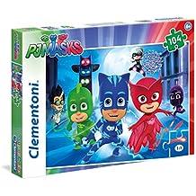 Clementoni 27071 - Puzzle 104 Pj Masks