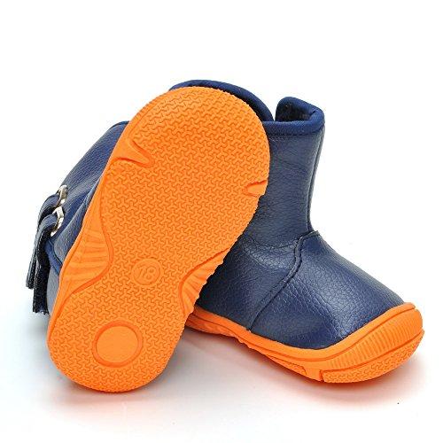 ESTAMICO , Chaussures souple pour bébé (garçon) bleu marine 18-24 mois bleu marine