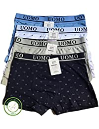 Lot de 4 boxers homme UOMO taille XXXL theme floral(autre taille disponible la même spécialité)