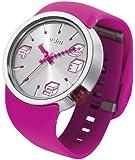 ODM Unisex-Armbanduhr Cubic Analog Automatik Silikon Rosa DD136-03