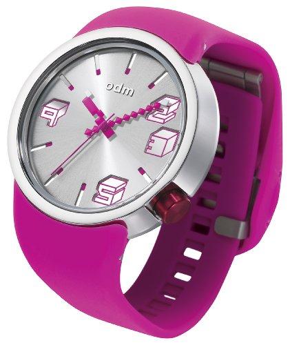 odm-unisex-armbanduhr-cubic-analog-automatik-silikon-rosa-dd136-03