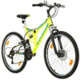 Fahrrad MTB Mountainbike Fully Full Suspension 26 Zoll Bikesport PARALLAX