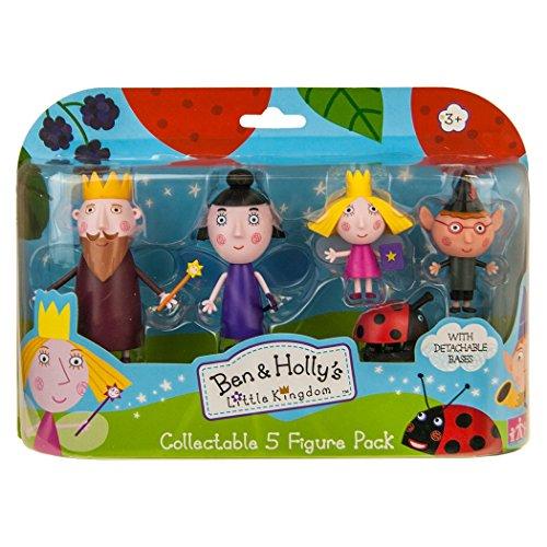 Giochi Preziosi - Ben & Holly Set Mini Personaggi, 5/10 cm, Modelli Assortiti