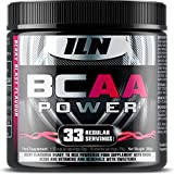 BCAA POWER - Ultra Potent 15,000mg BCAAs | Intra Workout Supplement Drink - Muscle Energy | Berry Blast Flavour | 10:1:1 BCAA Ratio - 300 grams from Iron Labs Nutrition