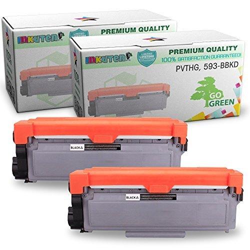 Dell E310dw, E514dw, E515dw, E515dn Series High Yield Toner Cartridges - (2  Black Toners) - Compatible Toner Cartridge Replacement - Dell PVTHG,