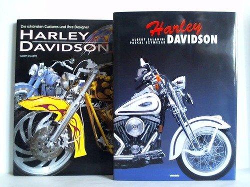 Portada del libro Harley-Davidson. Die schönsten Customs und ihre Designer / Harley-Davidson. Zusammen 2 Bände