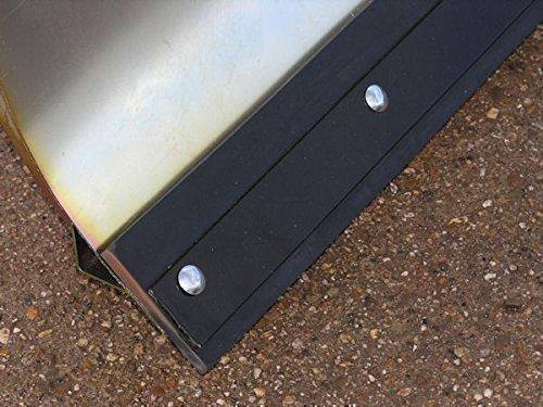 Jonsered JLR13T verzinktes Komfort-Schneeschild 118 x 50 cm für Rasentraktoren ID 2234