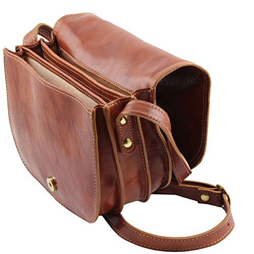 Tuscany Leather Isabella Borsa in pelle da donna Marrone Marrone