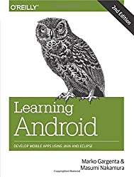 Learning Android 2ed