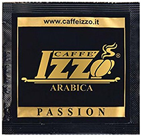 Izzo Arabica 100%, 50 ESE Pads / Espresso Pods / Cialde, 347,5 g