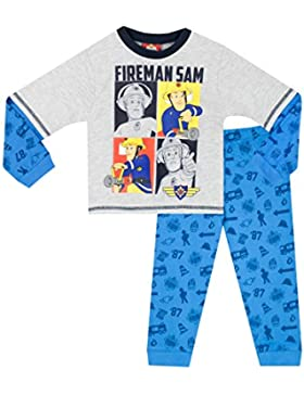 Fireman Sam Pijama para Niños - Sam el Bombero