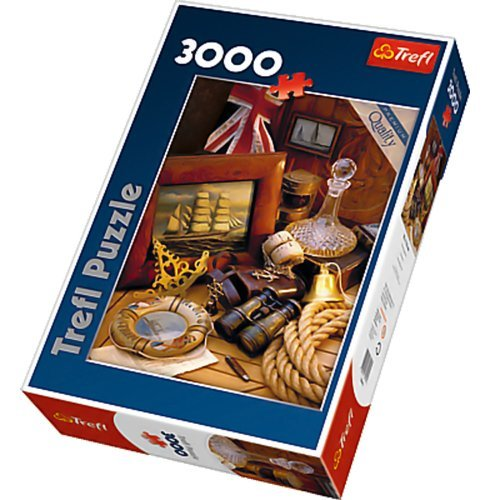 Trefl 83.929,2 cm Sea Stories Puzzle (3000-piece)