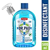 DR. PAX Double Power Multipurpose Disinfectant Hygiene Liquid, 500 ml (Icy Menthol)
