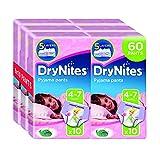 Huggies DryNites Pyjama Pants for Girls, Age 4-7 - 60 Pants Total