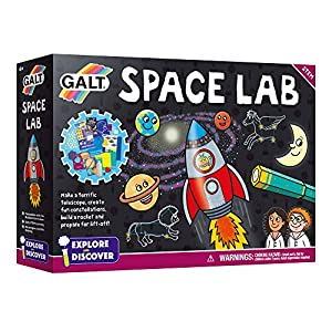 Galt Toys- Space Lab Laboratorio Espacial, Multicolor (James Galt & Company Ltd 1005113)